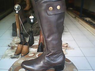 sepatu wanita boot gaul