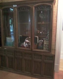before - kitchen hutch