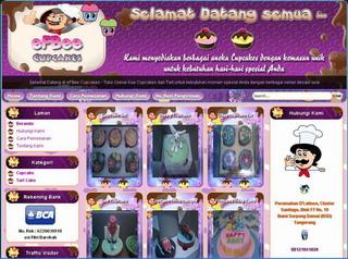 Toko Online Kue Cupcakes