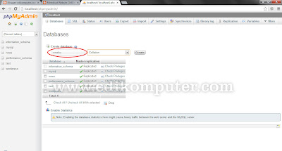 Cms php dengan dreamweaver bagian 4 membuat database website