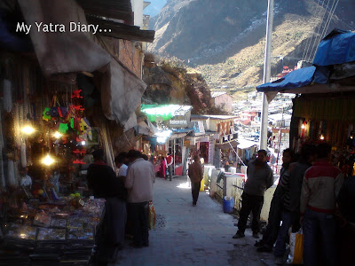 Markets of Badrinath