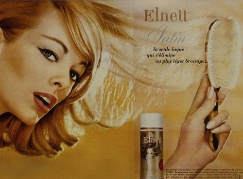 Brigitte Bardot i lakier do włosów