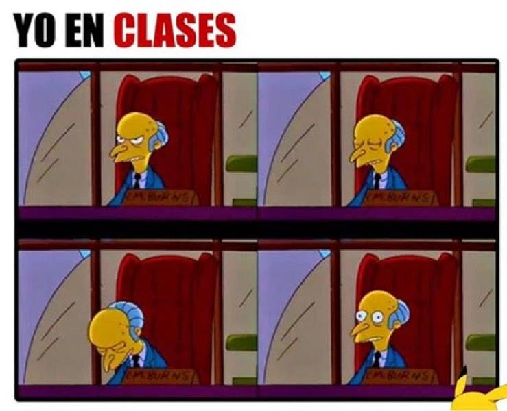 Yo en clases
