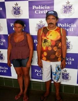 Casal foi preso em flagrante  (Foto: Maravilha Notícias)