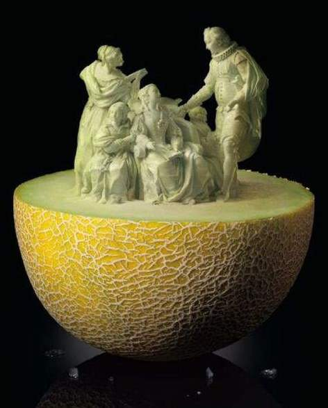 Amazing food carvings what is fatmagul s fault