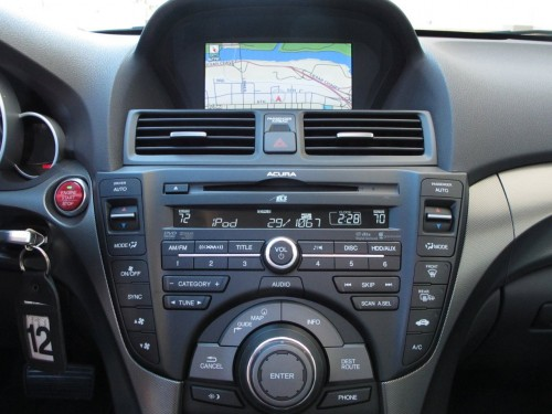 this is 2012 acura tl navigation manual