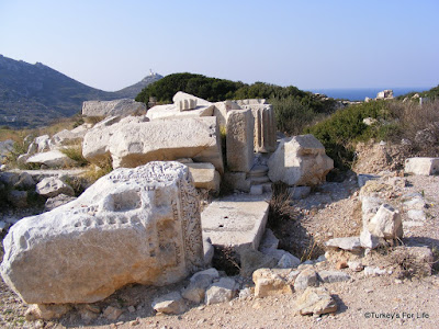 Ruins At Knidos on the Datça Peninsula