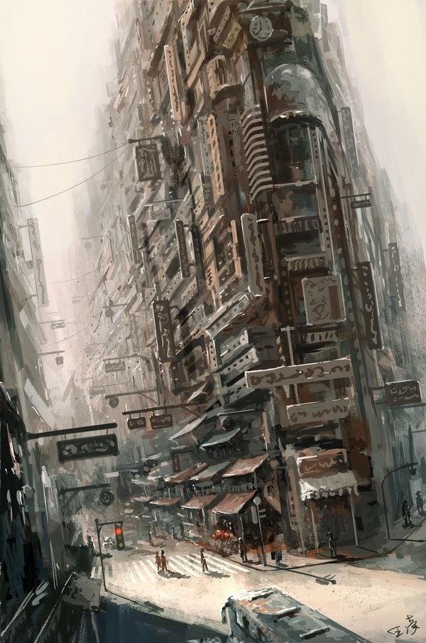 Wang Ling's artwork