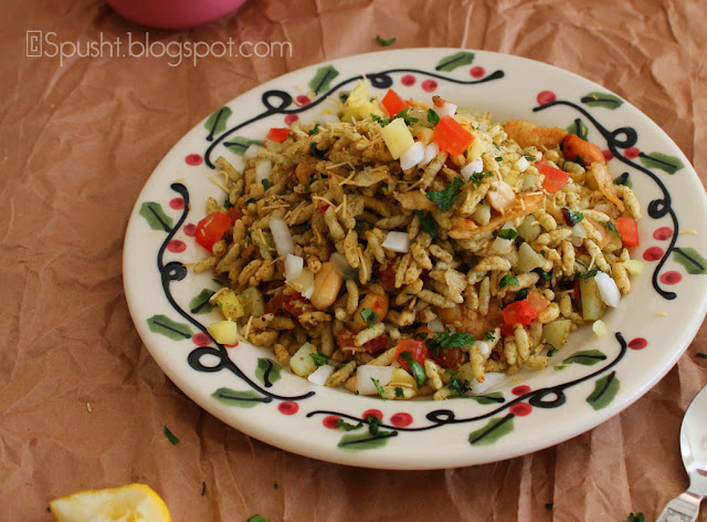 Spusht   Recipe for Bhel Puri Mouthwatering Indian Chaat