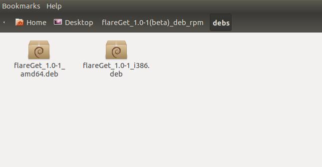 File installer flareGet