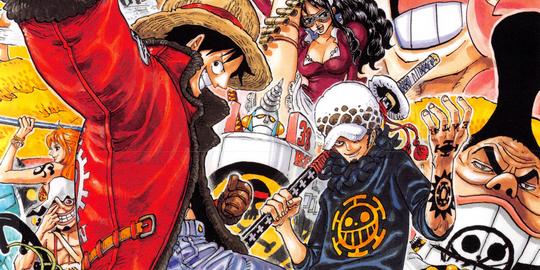 One Piece, Manga, Actu Manga, Suguru Sugita, Gold Rush, Eiichiro Oda,