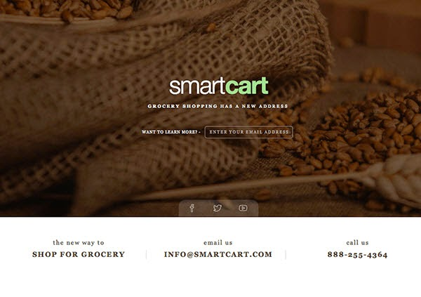 Free Coming Soon Template – Smart Cart