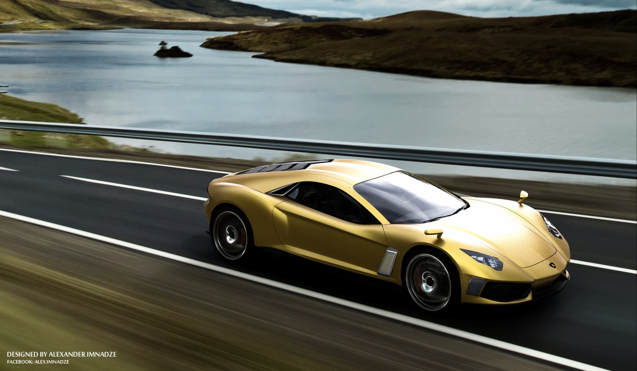 Stunning Lamborghini Design Study By Alex Imnadze