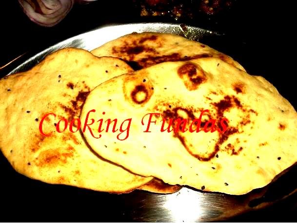 Cooking fundas tawa naan naan is a favourite of all indiansually made in tandoor or oven can also be made on tawa in home which we called as tawa naan thecheapjerseys Images