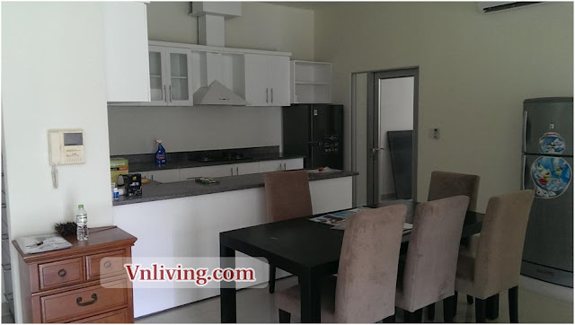Garden Plaza apartment in Phu My Hung for rent 3 bedrooms furnished