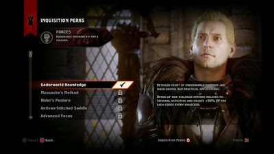 Dragon Age Inquisition Perks Guide Cullen