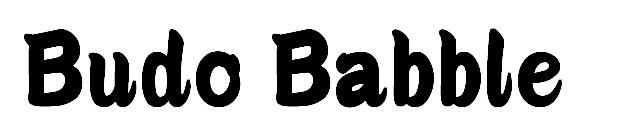 Budo Babble