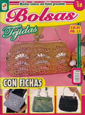 REVISTA DE BOLSAS TEJIDAS A CROCHET GRATIS