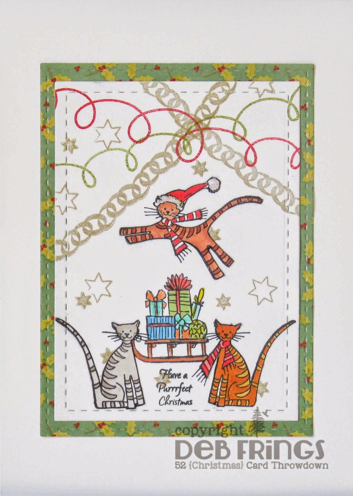 Purrfect Christmas - photo by Deborah Frings - Deborah's Gems