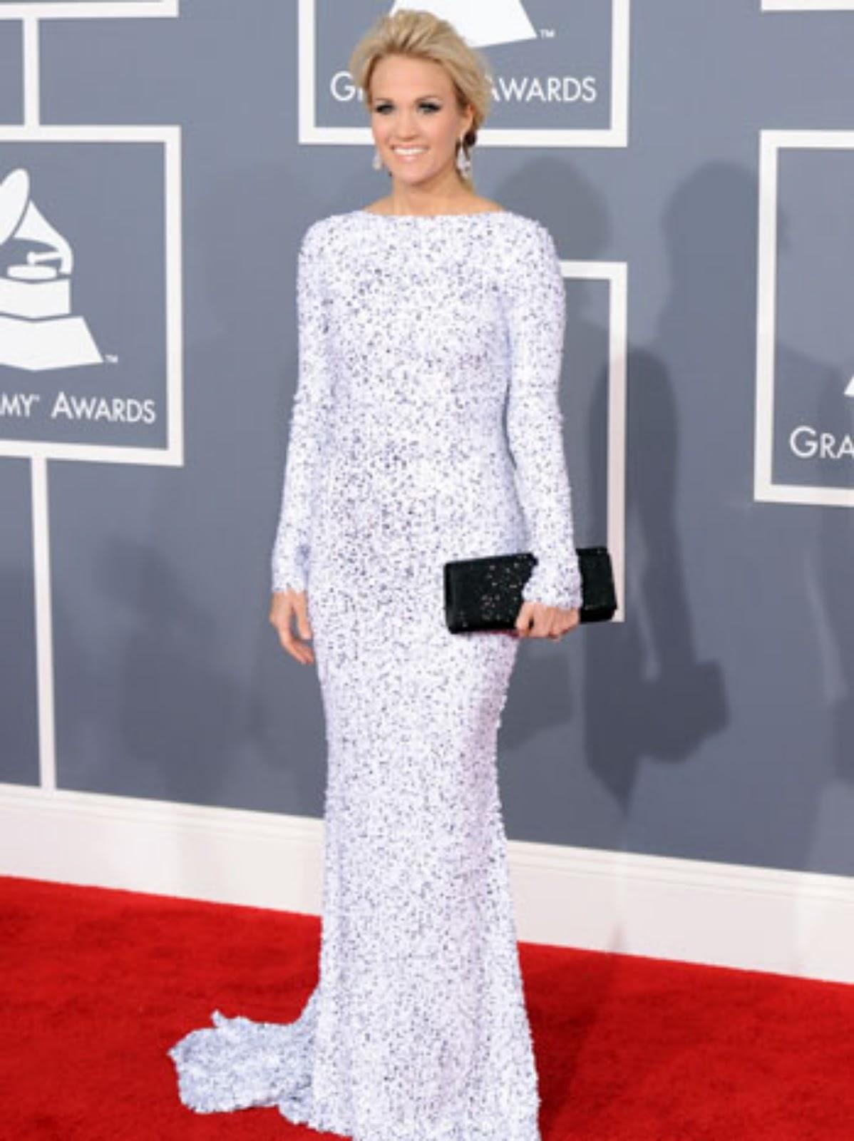Grammy Awards 2012 Red Carpet Arrivals Fashion News