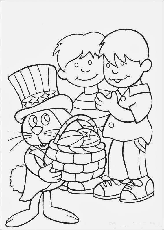 Fun Coloring Pages: Peter Cottontail Coloring Pages