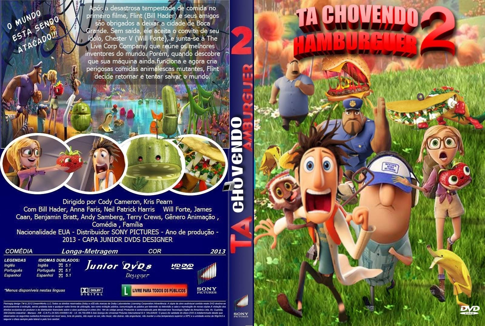 Filme Ta Chovendo Hamburguer Dublado Completo inside download tá chovendo hambúrguer 2 r5 xvid dublado