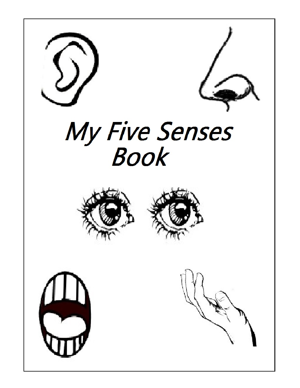 math worksheet : kindergarten worksheets january 2016 : Five Senses Kindergarten Worksheets
