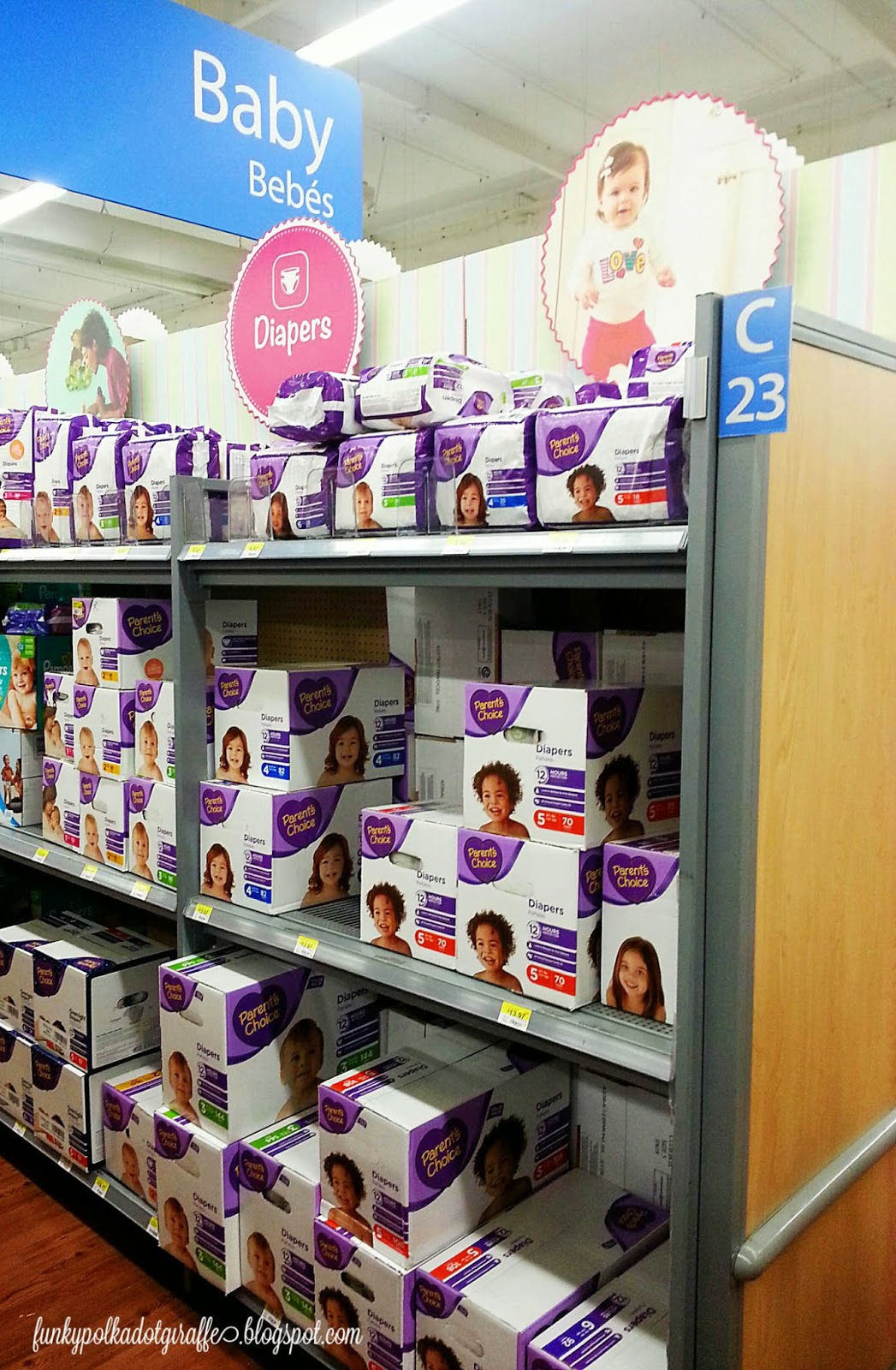 walmart parents choice diapers