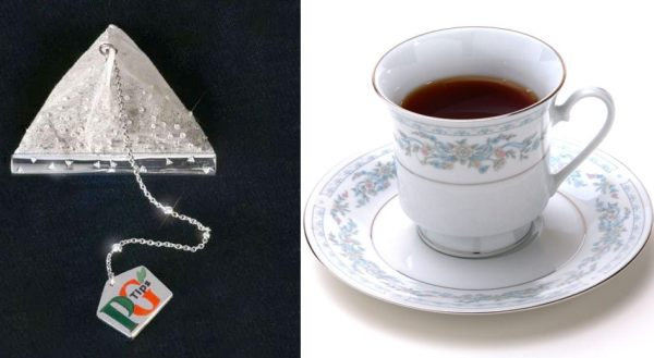 PG tips, tea, expensive tea, diamonds, diamonds tea