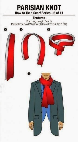 How To Tie Scarf  | Fashion