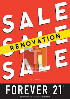 Forever 21 Renovation Sale 2013