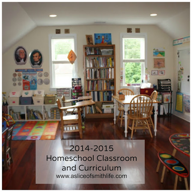Homeschool Room With Small Spaces