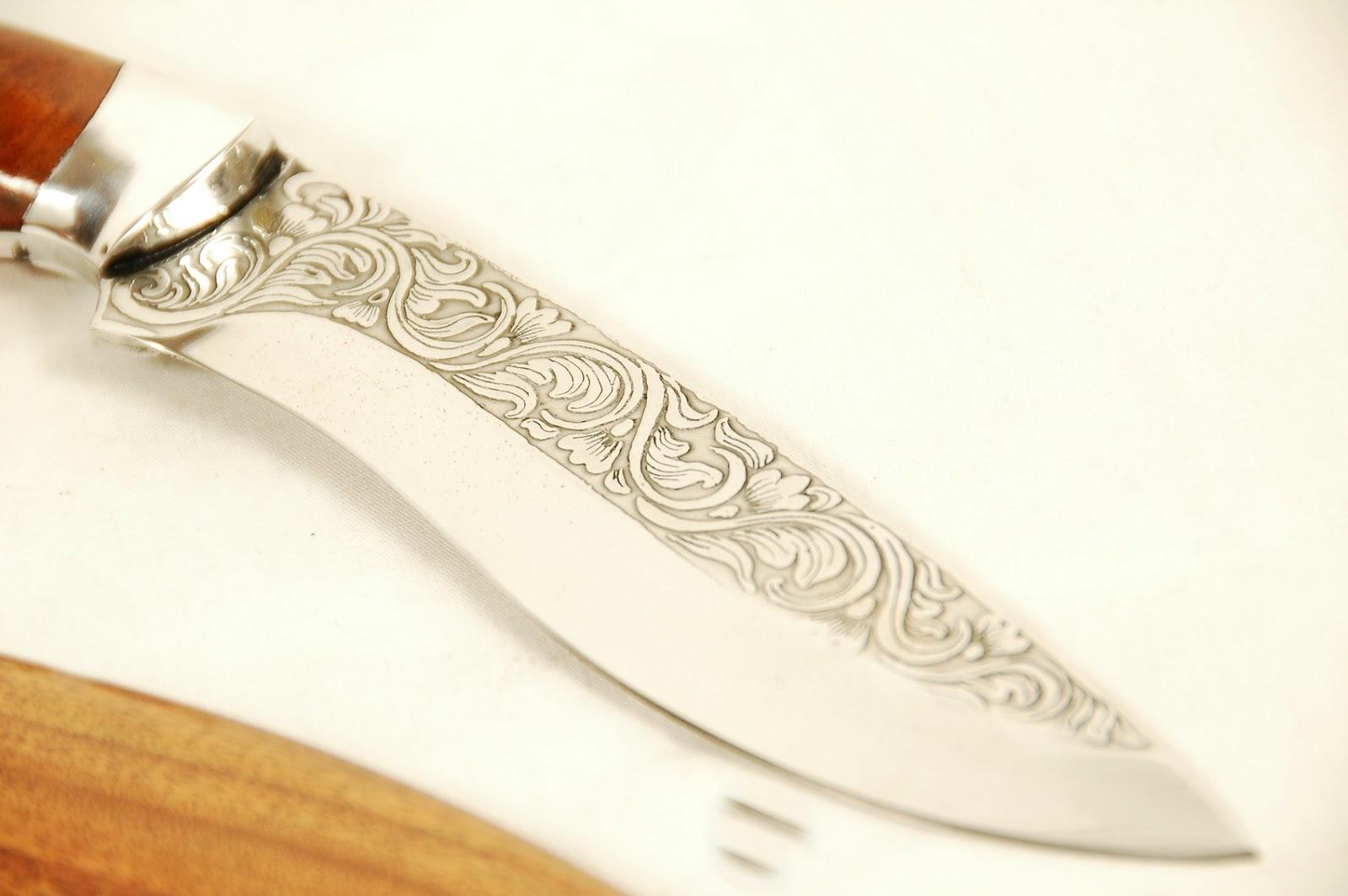 Как сделать гравировку на ноже в домашних условиях своими руками 74