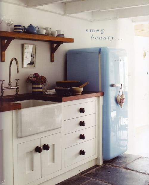 Smeg Fridge · Retro Kitchen