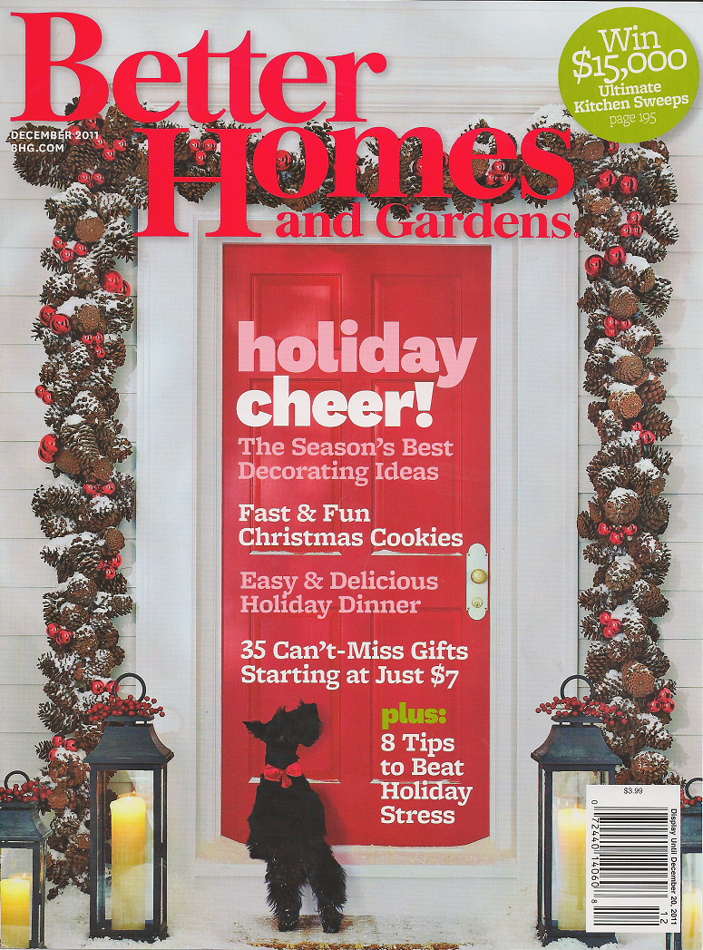Red door home better homes and gardens holiday floral shoot Better homes and gardens christmas special