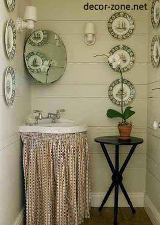 Small Bathroom Accessories, Bathroom Decorating Ideas In Country Style