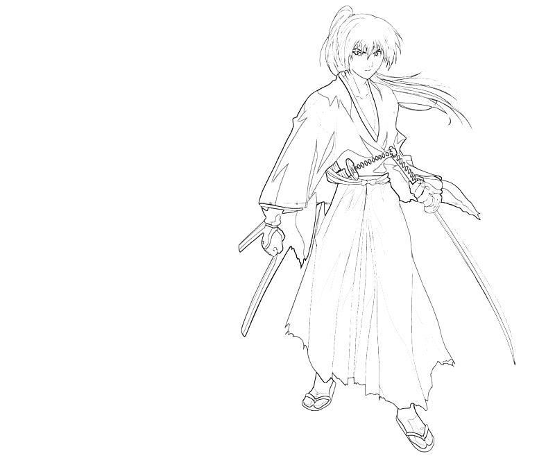 printable-kenshin-himura-sword-coloring-pages