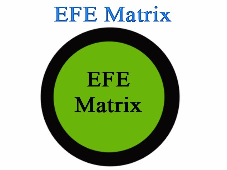 efe matrix for yahoo Aregarding weights in a cpm or efe matrix, be mindful that 008 is mathematically 25 percent higher than 006, so even small differences can reveal important perceptions regarding the relative importance of various factors.