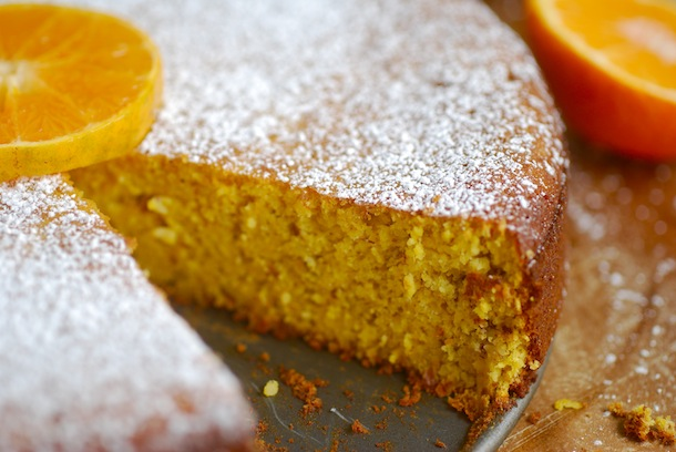 Sugar Free Orange And Almond Cake Recipe