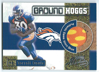 Highlights of COMC Randoms, including Terrell Davis' shoe and Variations on the Music City Miracle Highlights of COMC Randoms, including Terrell Davis' shoe and Variations on the Music City Miracle davis 2Bsick