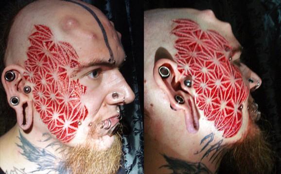 tatto paling ekstrem yang pernah di buat