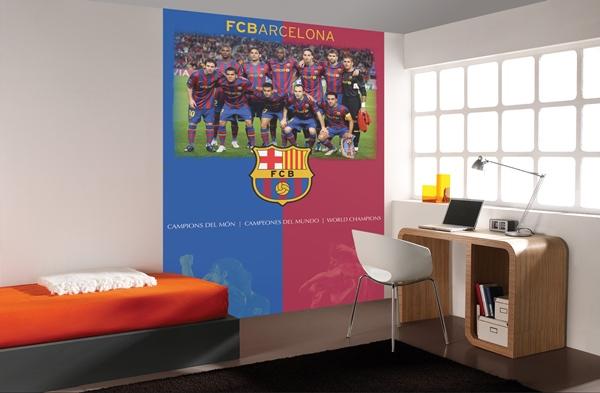 Papel pintado fotomurales futbol club barcelona for Papel pintado barcelona