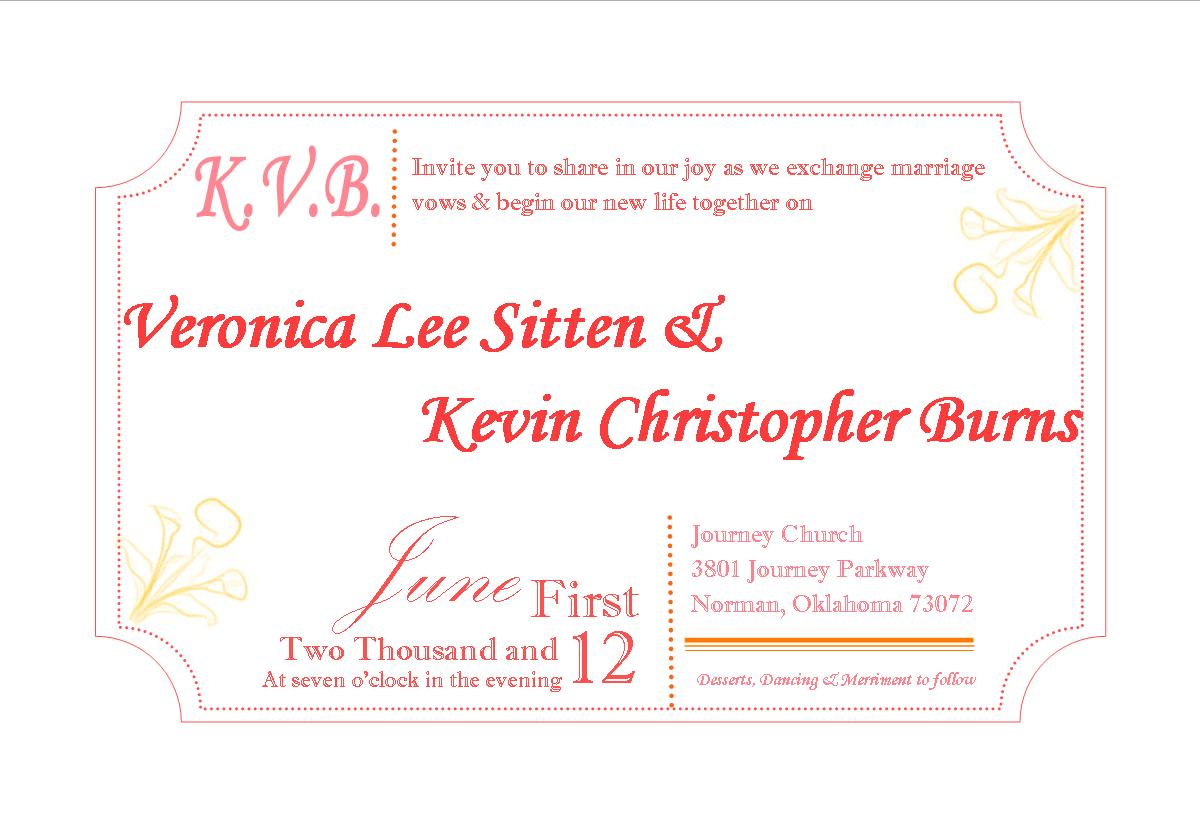 Pre Wedding Party Invitation Veronica free wedding samples by mail