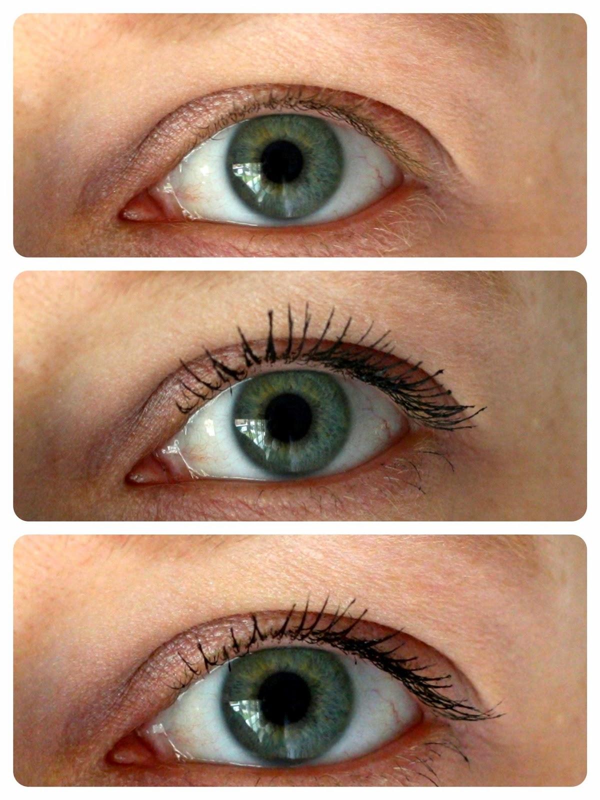 Mascara aanbrengen onderste wimpers