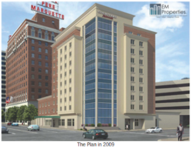 The Plan - Rehab Pere Marquette and New Marriott