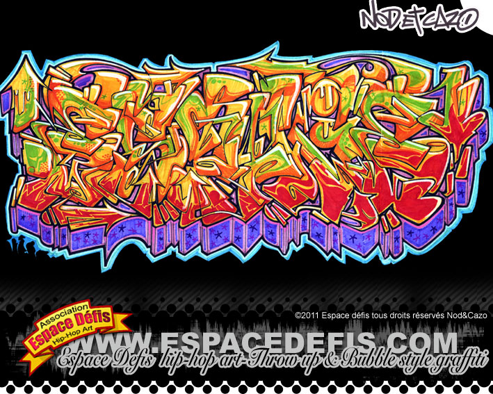 Learn how to write grafitti