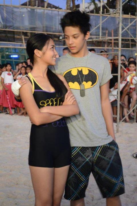 sexy photo of Kathryn with Daniel