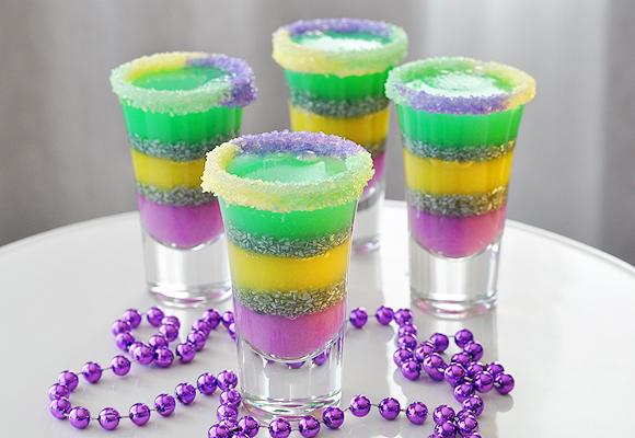 jelly shots blue hawaii jelly shots ramos gin fizz jelly shots ocean ...