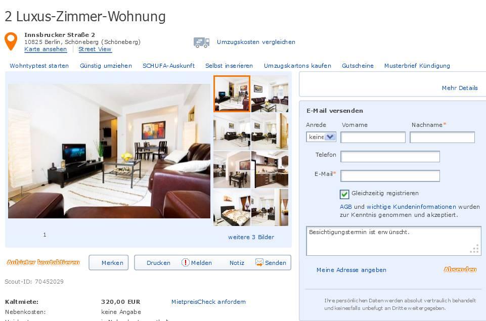 Zimmer Wohnung Berlin Schoneberg
