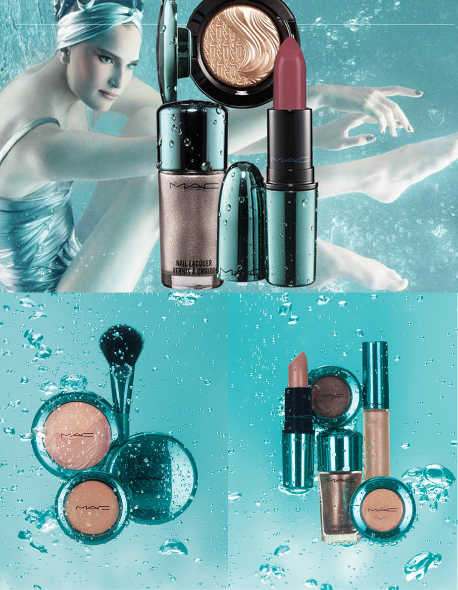 mac collection alluring aquatic - blog Mamãe de Salto